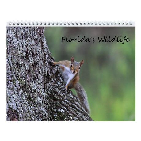 Wall Calendar-Florida Wildlife