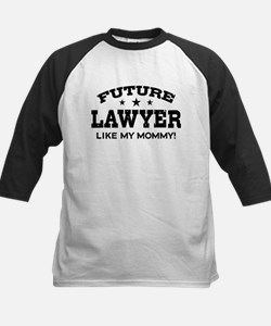 Future Lawyer Like My Mommy Kids Baseball Jersey
