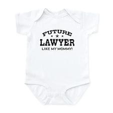 Future Lawyer Like My Mommy Onesie