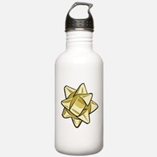 Gold Bow Water Bottle