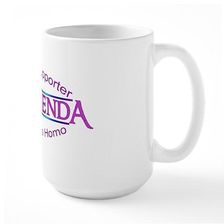 Gay Agenda Large Mug