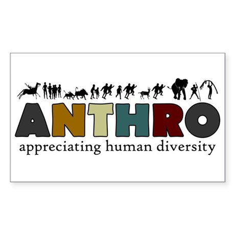 Anthropology Rectangle Sticker
