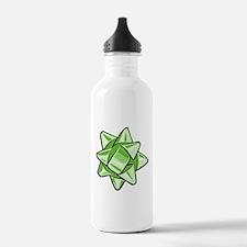 Green Bow Water Bottle