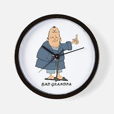 Bad Grandpa Wall Clock