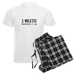 I Write Therefore I Am Pajamas