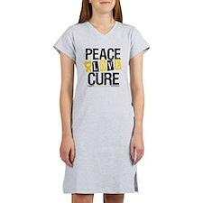 Childhood Cancer Cure Women's Nightshirt