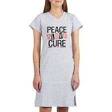 Uterine Cancer Cure Women's Nightshirt