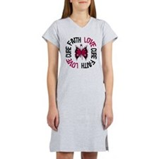Multiple Myeloma Faith Women's Nightshirt