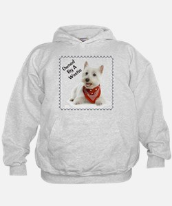 Owned By A Westie 123 Hoodie