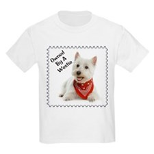 Owned By A Westie 123 T-Shirt