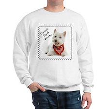Owned By A Westie 123 Sweatshirt