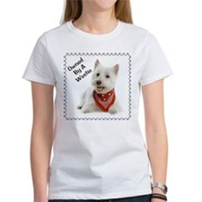 Owned By A Westie 123 Tee
