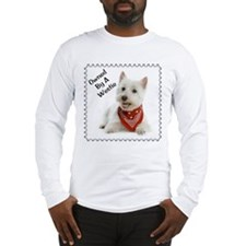 Owned By A Westie 123 Long Sleeve T-Shirt