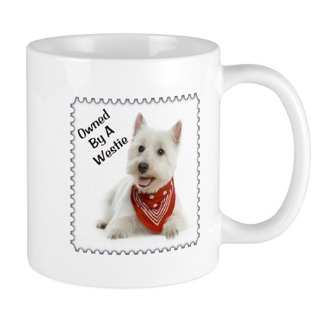 Owned By A Westie 123 Mug