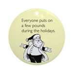 Holiday Pounds Ornament (Round)