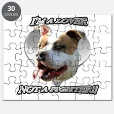 Im a lover Pitbull Dog Puzzle