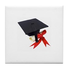 Cute Graduate Tile Coaster