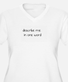 One worded T-Shirt