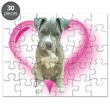 Pitbull puppy Puzzle