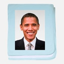 Obama baby blanket