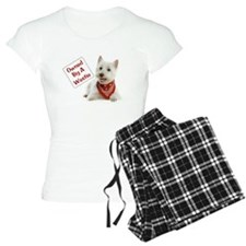 Own By A Westie 125 Pajamas