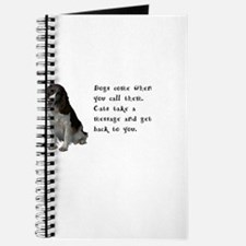 Cute Dog picture Journal