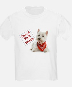 Own By A Westie 125 T-Shirt