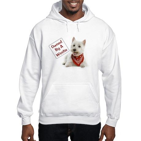 Own By A Westie 125 Hooded Sweatshirt