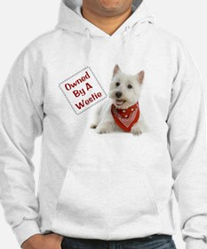 Own By A Westie 125 Hoodie
