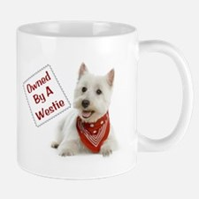 Own By A Westie 125 Small Small Mug