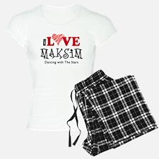 DWTS I Love Maks Pajamas