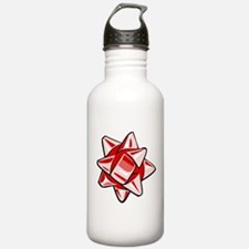 Red Bow Water Bottle