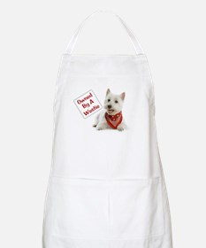 Own By A Westie 125 Apron