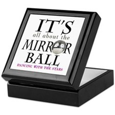 DWTS Mirror Ball Keepsake Box