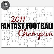 2011 Fantasy Football Champion Puzzle