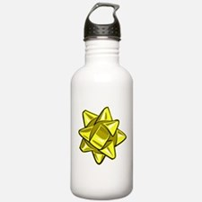 Yellow Bow Water Bottle