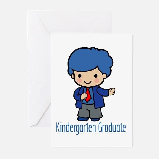 Kindergarten Graduate (Boy) Invitations (6)