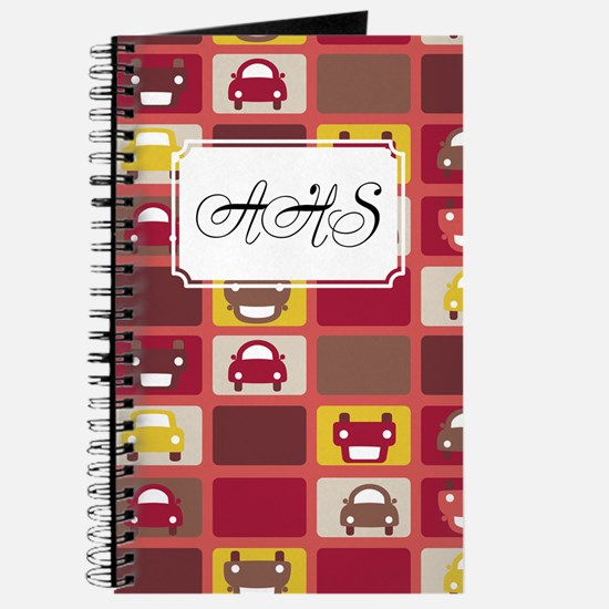 Cars Stacked Red Journal