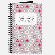 Dot Flower Pink Peach Journal