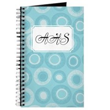 Dot Pattern Teal Journal