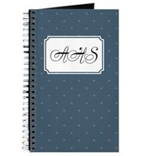 Dots Square Blue Journal