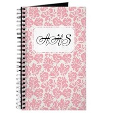 Flourish Leaves Pink Journal
