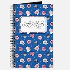 Flower Jeans Blue Journal