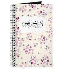 Flower Liberty White Journal