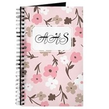 Flower Simple Pink Journal
