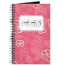 Flower Tropical Simple Pink Journal