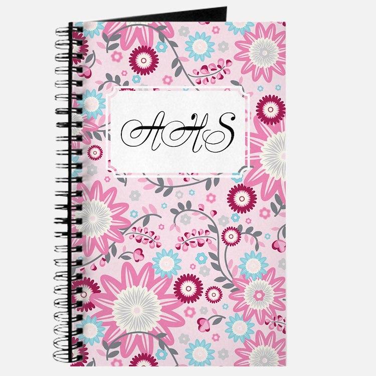 Flower Vines Pink Journal