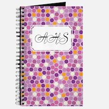 Mosaic Dots Purple Journal