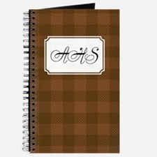 Plaid Brown Journal