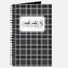 Plaid Classic Black Journal